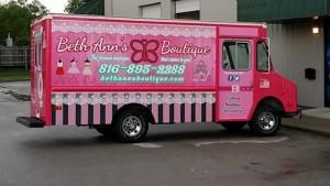 company truck graphics