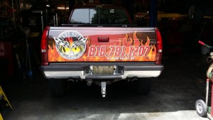 custom truck tailgate wraps pick-up graphics & wraps