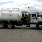 septic service vehicle graphics a white septic service truck with custom vehicle graphics