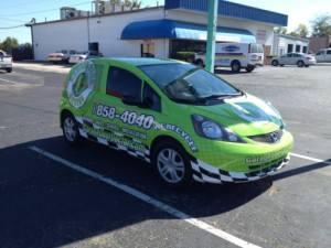 fleet vehicle graphics a vehicle fully wrapped